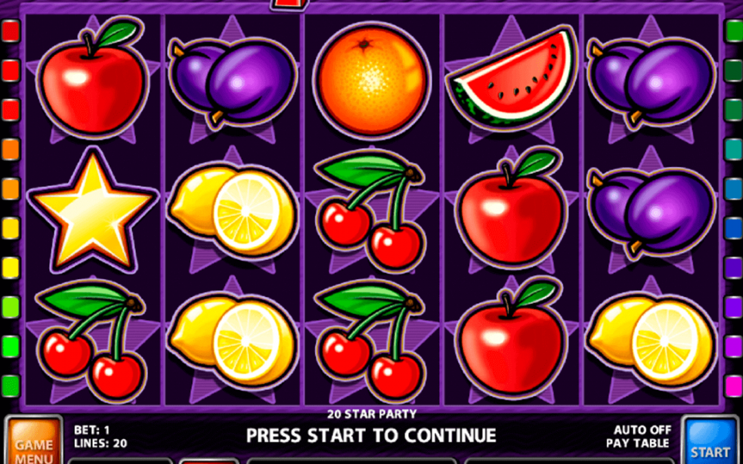 Mobile app for Fruit casino